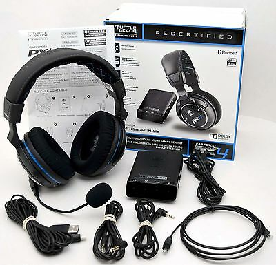 Turtle Beach PX4 Ear Force Gaming Wireless Headset PS3/PS4/XBox 360 headphones