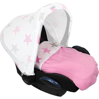 Dooky Dooky Decke Baby Rosa / Pink Sterne