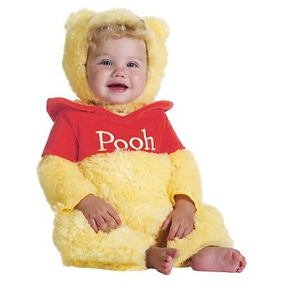 Winnie The Pooh Costume Baby Infant Halloween Fancy Dress