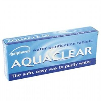 Pack Of 50 Oasis Water Purification Tablets - Highlander Travel Military Abroad
