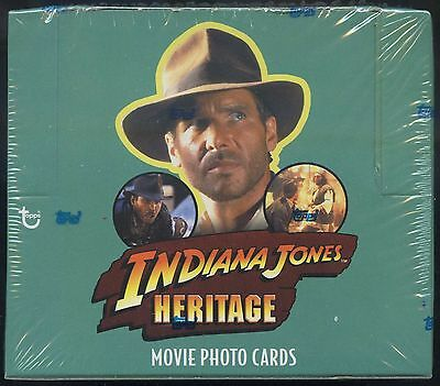 2008 Topps Indiana Jones Heritage Hobby Box Possible  Ford / George Lucas Auto