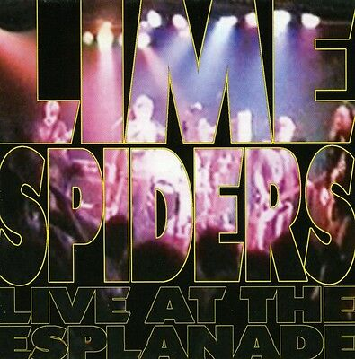 Lime Spiders - Live at the Esplanade [New CD]