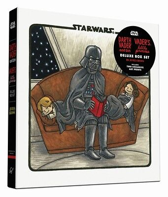 Darth Vader & Son / Vader s Little Princess Deluxe Box Set (includes two art pr.