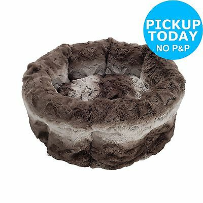 Rosewood Swirl High Top Pet Bed. From the Official Argos Shop on ebay