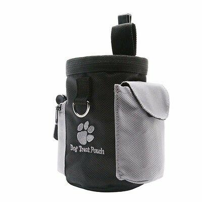 Pet Dog Puppy Waterproof Obedience Agility Bait Training Food Treat Pouch Bag