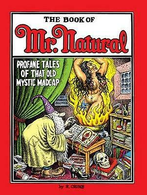 NEW The Book Of Mr. Natural By Robert Crumb Hardcover Free Shipping