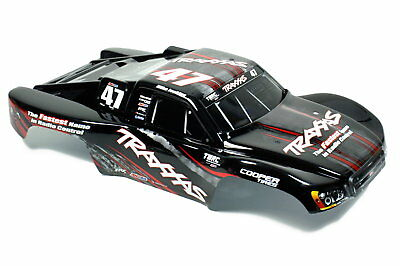 Traxxas Slash VXL SCT Short Course Truck OBA 1:10 Karosserie Schwarz Body Black