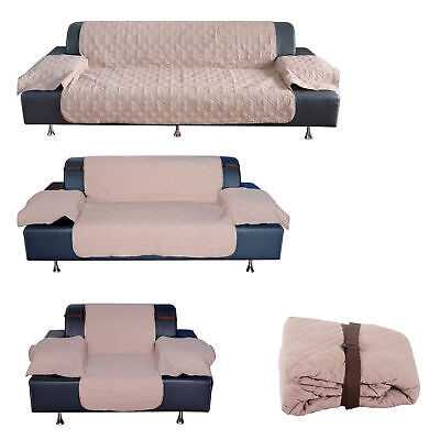 Quilted Pet Dog Sofa Cover Couch Slipcover Three-seat Furniture Protector 3 Size