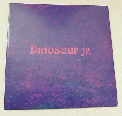 "Dinosaur Jr - Two things    RARE 7"" & FREE STICKER"