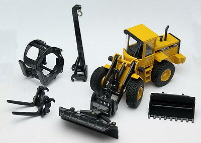 JOAL 400 Volvo L70C Wheel Loader 1/50 Scale With Attachments New Boxed -T48 Post