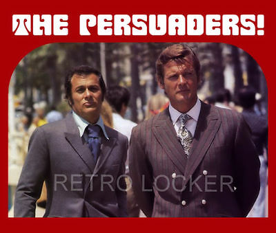 New Retro The Persuaders TV Series Mousemat Pad. Roger Moore, Tony Curtis