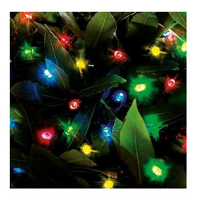 Cole And Bright 200 LED String Lights Multi Color Battery Operated 18576