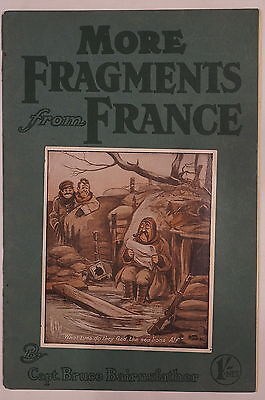 WW1 British Captain Bruce Bairnsfather More Fragments From France Reference Book