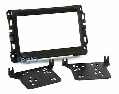 Metra 95-6518B Double DIN Dash Installation Kit for 2013-Up Dodge Ram