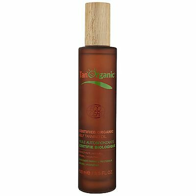 NEW Tan Organic Self Tanning Oil 100ml FREE P&P