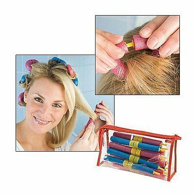Clip System Bendy Curls - Salon Quality Results. No Heat Damage - 20 Pieces