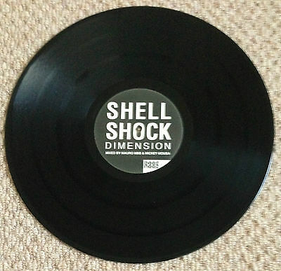 "Shell Shock (2) - Dimension,  A 2-Mix 12"" Vinyl, Bee's Nees, Dpu 1082 (2004)"