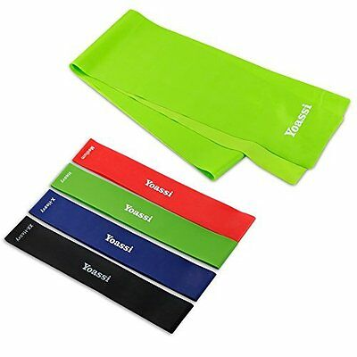 Excercise Bands / Resistance Loop Bands for Everyone, Multi-use by Yoassi