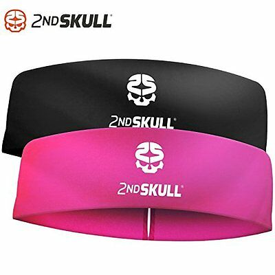 Protective Headband With Silicone Grip, 4mm, Hot Pink by 2nd skull