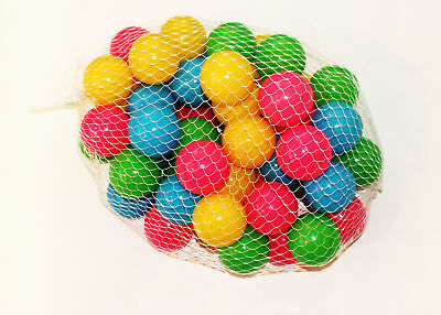 Bestway Fisher Price 50 Fun Colored Balls for Jump O Lene Bouncer Ball Pits