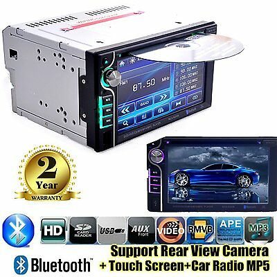 6.2'' Coche CD DVD Player HD In Dash Stereo Touch Screen Radio Bluetooth MP3 ES