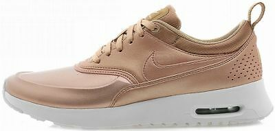 the best attitude db2e4 3e815 NIKE WOMENS AIR MAX THEA SE Red Bronze running training fashion sneakers
