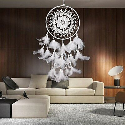 Dream Catcher With Feathers Wall Hanging Decoration Handmade Ornament Craft Gift