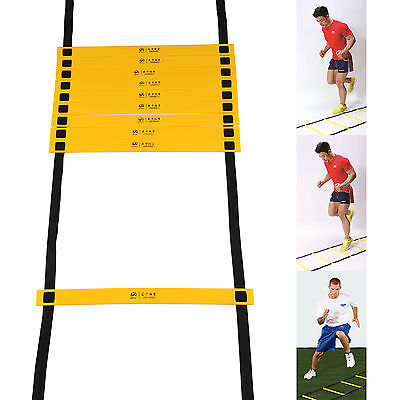New Sports 6 Metre Speed Agility Training Ladder Flat Rungs Outdoor Fitness UK