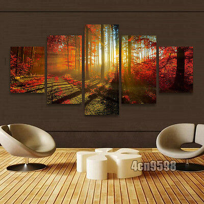 HUGE CANVAS ART MODERN ABSTRACT WALL DECOR MURAL OIL PAINTING(No Frame)