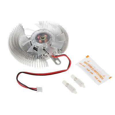 New 2 Pin Connector Small QQ Computer Graphics Card Heatsinks Cooler Cooling Fan