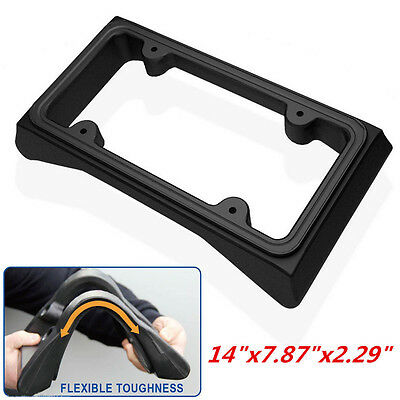 Car Front Bumper Guard & Heavy Duty License Plate Frame Automobile Protection