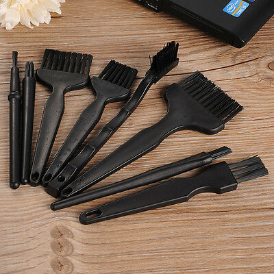 8pcs ESD Specialized Anti-static Cleaning Brush Set for PCB Repair Soldering