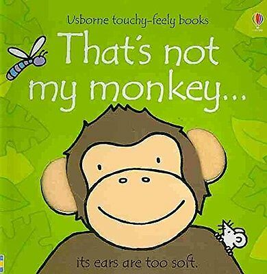 That's Not My Monkey (Usborne Touchy-Feely Books),New Condition