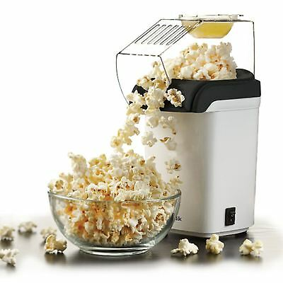 Sentik 1200w White Electric Hot Air Healthy Popcorn Popper Maker Machine Party