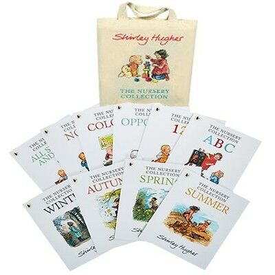 The Shirley Hughes Nursery 10 Book Set Collection - RRP: £61.90