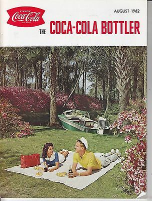 Coca Cola Coke USA Heft Magazin The Bottler - August 1962