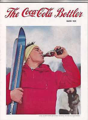 Coca Cola Coke USA Heft Magazin The Bottler - März 1959