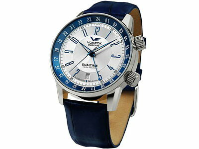Watches Vostok Europe GAZ-14 Limousine silver/blue item no. 100-5601057 NEW