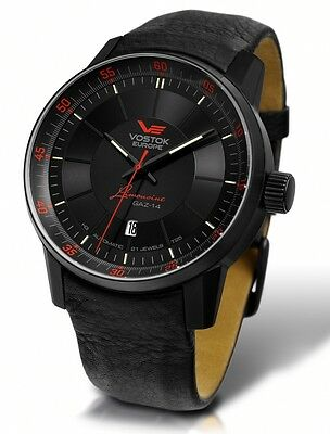 Vostok Europe GAZ 14 Automatic with Trigalights NH35A-5654140 NEW • EUR 408,00