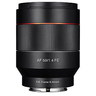 Samyang AF 50mm F1.4 in Sony FE Full Frame Mount
