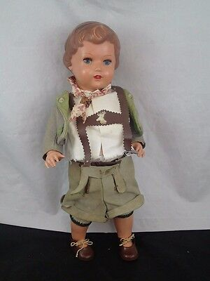 SCHILDKROT Boy DOLL 16 inch TURTLE Mark 44 Jointed Celluloid GERMAN