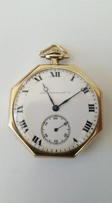 Smith Patterson Co. Watch Open Face Collectible Pocket Watch