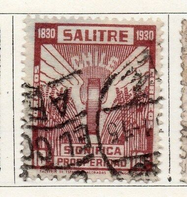 Chile 1930 Early Issue Fine Used 1c. 097990