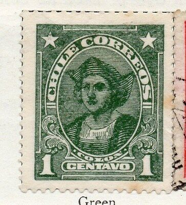Chile 1915 Early Issue Fine Mint Hinged 1c. 098013