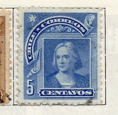 Chile 1905 Early Issue Fine Used 5c. 098048