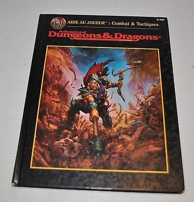 Advanced DUNGEONS & DRAGONS AIDE au JOUEUR Combat Tactiques FRENCH BOOK 2149F