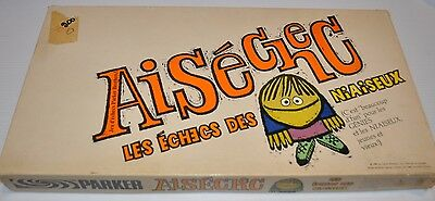 AISECHEC (Smess) Chess BOARD GAME Parker Brothers (miss 1 pce)