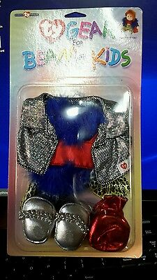 Party Tyme TY Gear for Beanie Kids cloth dolls new mint 3up girls 0510