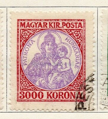 Hungary 1921 Early Issue Fine Used 3000k. 098316