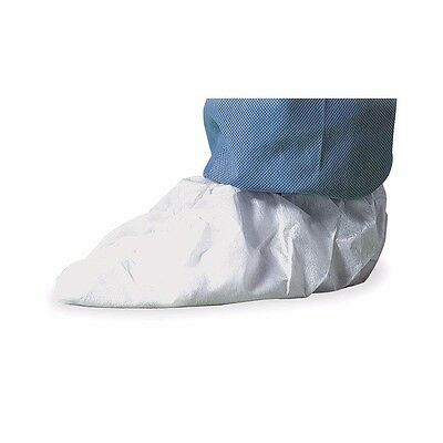 DUPONT IC451SWHXL01000B Shoe Covers, Slip Resist, XL, Wh, PK100 (LS1883-1MKY4*A)